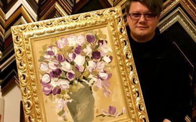Paul Surugiu – Fuego îşi înrămează tablourile în foiţă de aur! Iată ce surprize inedite pregăteşte artistul!